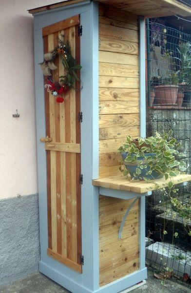 Oltre 20 migliori idee su mobili da esterno su pinterest portalegna focolari per esterni e - Mobili da ripostiglio ...