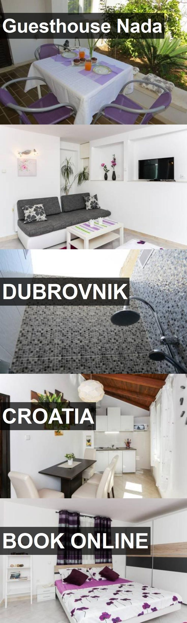 Hotel Guesthouse Nada in Dubrovnik, Croatia. For more information, photos, reviews and best prices please follow the link. #Croatia #Dubrovnik #travel #vacation #hotel