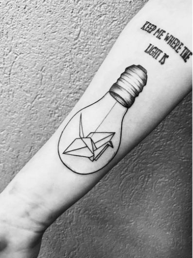 paper crane tattoo meaning - photo #22