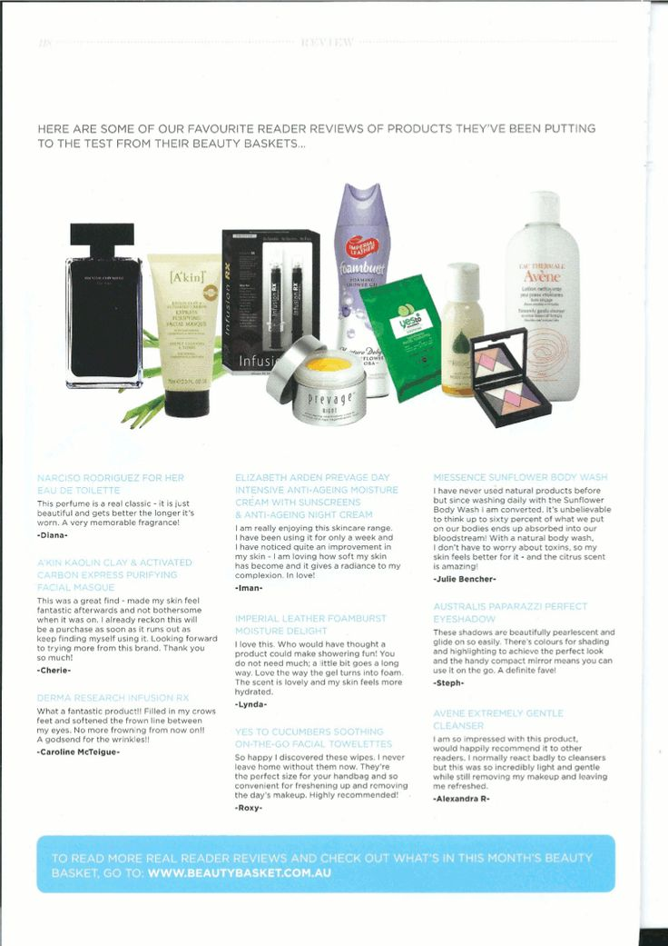 #Miessence Sunflower Body Wash was featured in Just Be Magazine.