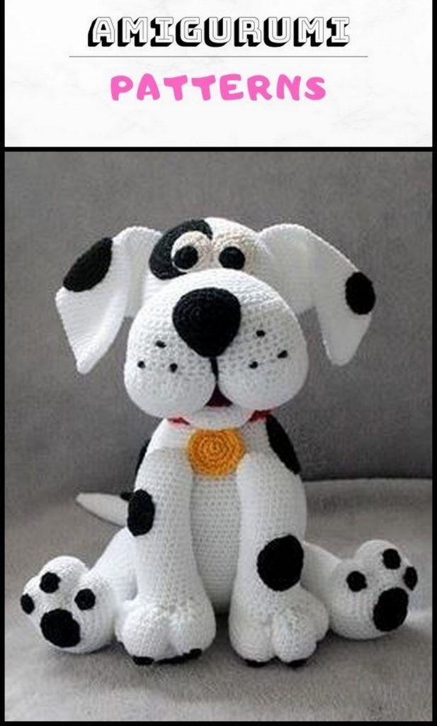 Amigurumi Sweet Dog Free Pattern | Crochet dog patterns, Crochet ... | 1024x617