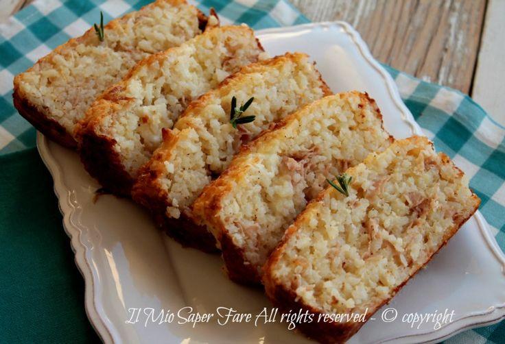 Torta salata riso e mozzarella affumicata primo piatto ricco e gustoso.Torta salata con riso facile.La torta salata riso è anche da valido piatto unico