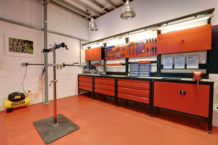 The best workshop in any independent bike shop