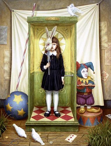KARAKURI BOX   Shiori Matsumoto ノスタルジックな少女たちの世界を描く松本潮里の絵画作品集