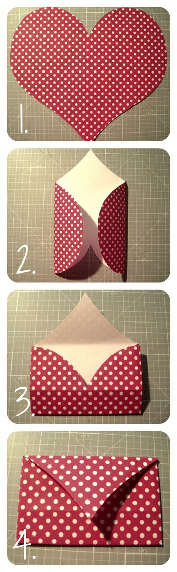 Valentine's Day :: Super easy envelopes!