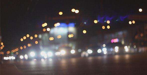 Night Traffic in a Big City at The Crossroads by Anatar Night City Traffic. Full HD 19201080.