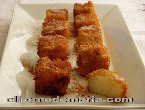 Leche Frita, receta de Carnaval para niños