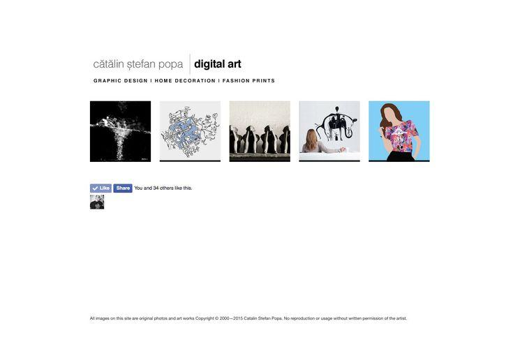 webdesign site Catalin Stefan Popa