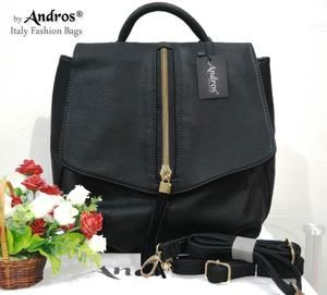 TAS IMPORT KODE: 7000  IDR. 220.000  BAHAN PU  SIZE L26XH29XW12CM  WEIGHT 800GR  COLOR BLACK