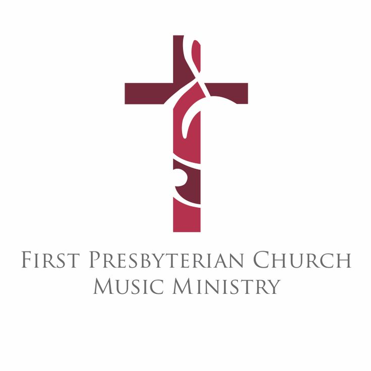 First Prebyterian Church Music Ministry logo designed by circle S studio #logo #design