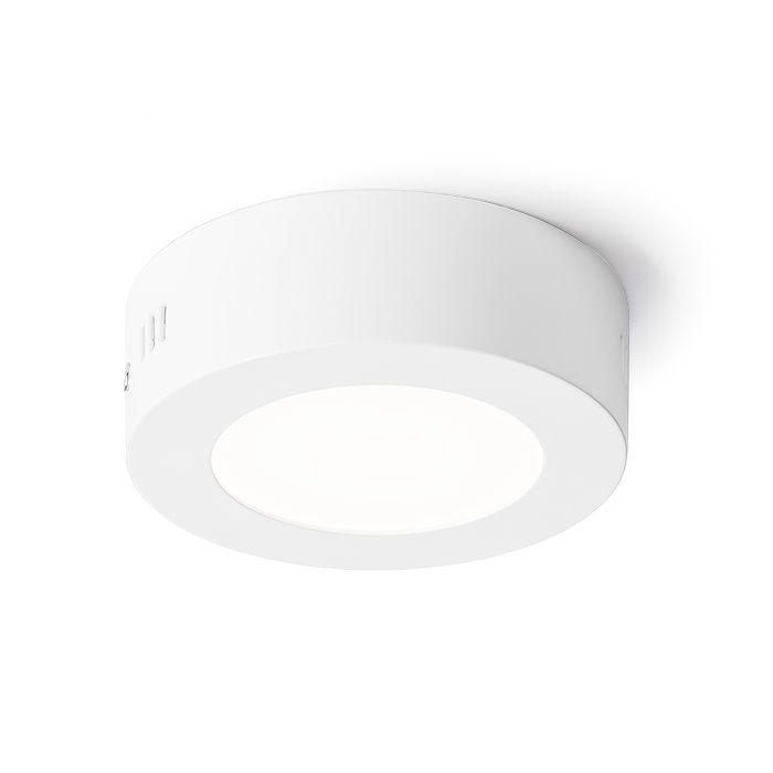 SLENDER 12 R SURFACE MOUNTED | rendl light studio | Flat surface-mounted LED light. #lights #LED #office