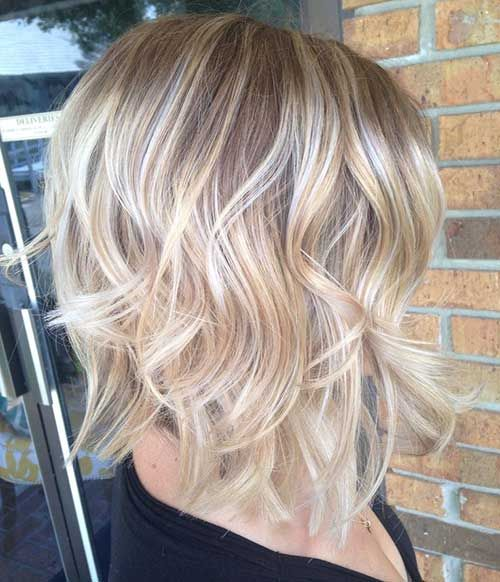 1,3,7,8,9,13,18 - Short Layered Wavy Ombre Hair