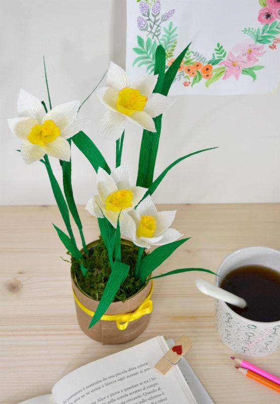fiori di narciso tutorial