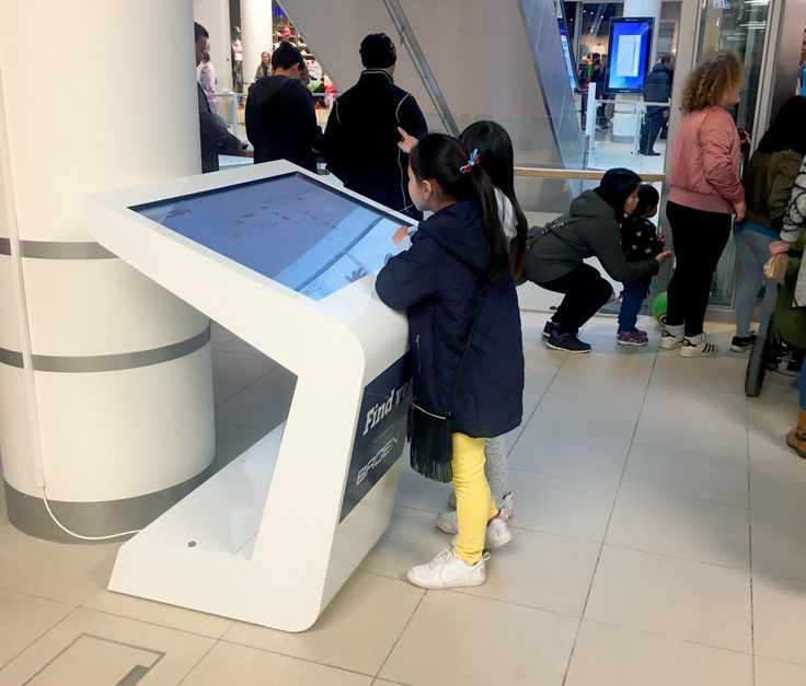 Vega wayfinder infokiosks just hit the Esbjerg shopping center!