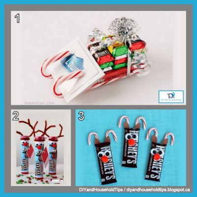 DIY And Household Tips: 3 Homemade Christmas Candy Gifts