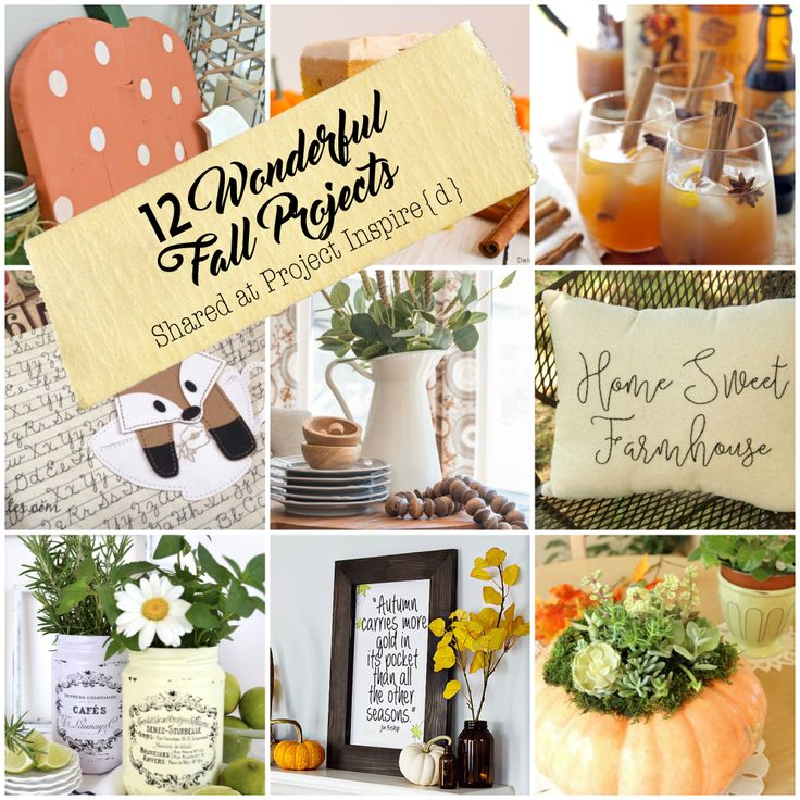 One Dozen Fall Projects and Ideas