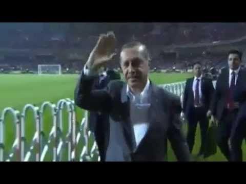 PM Turkish Scored Three Goals in Opening New Istanbul Stadium