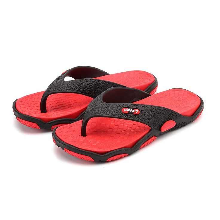 2019 New Men non-slip Sandals Summer Personality Flip-flops Men Beach Sandals Comfortable Wild Men Large Size Casual Shoes Men