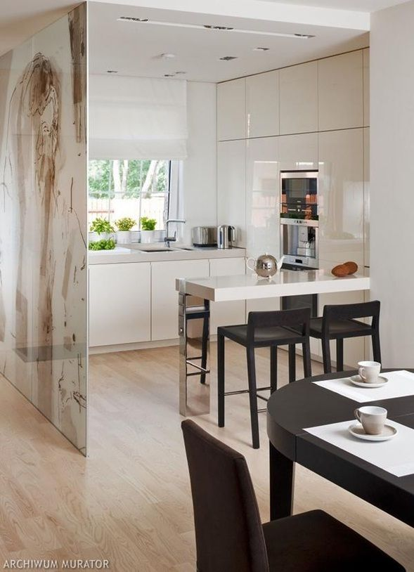 Dise o cocina peque a moderna inspiraci n de dise o de - Diseno cocinas modernas ...