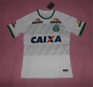 16-17 Chapecoense AF Away Cheap Replica Football Shirt [I00877]