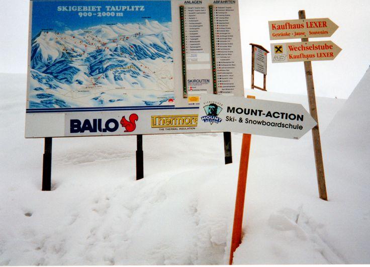 Schilderwald in Bad Mitterndorf #Skiurlaub #Österreich #Schnee #Winter