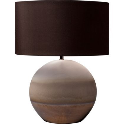 Teddy Large Minstrel Table Lamp With Reactive Glaze At Homebase    Be  Inspired And Make