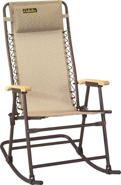 Cabela's: Cabela's Premium Patio Furniture - Black Rocking Chair - on sale for $29.99 right now!!