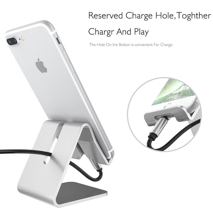 Universal Desk Stand For Phone Aluminum Metal Mobile Cellphone Tablet Holder for Apple iPhone7 Plus  Ipad stand for smartphone Model Number: Universal for smart watches, mobile phones,tablet Compatible iPhone Model: iPhone 4s,iphone 3G/3GS,iPhone 4,iPhone 5 Material: Aluminium Alloy Charger: No Compatible Brand: Apple iPhone Car Holder: Yes Bicycle Holder: No Has Speaker: No Material: Hard Aluminium Alloy in high quality Applicable devices: for smart watches, mobile phones, tablet Compatible…