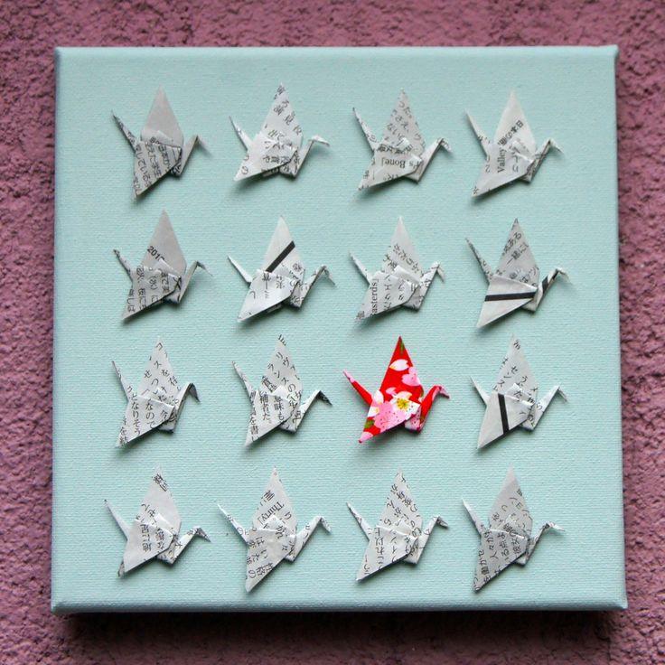 les 25 meilleures id es concernant grues en origami sur pinterest grue en papier origami. Black Bedroom Furniture Sets. Home Design Ideas