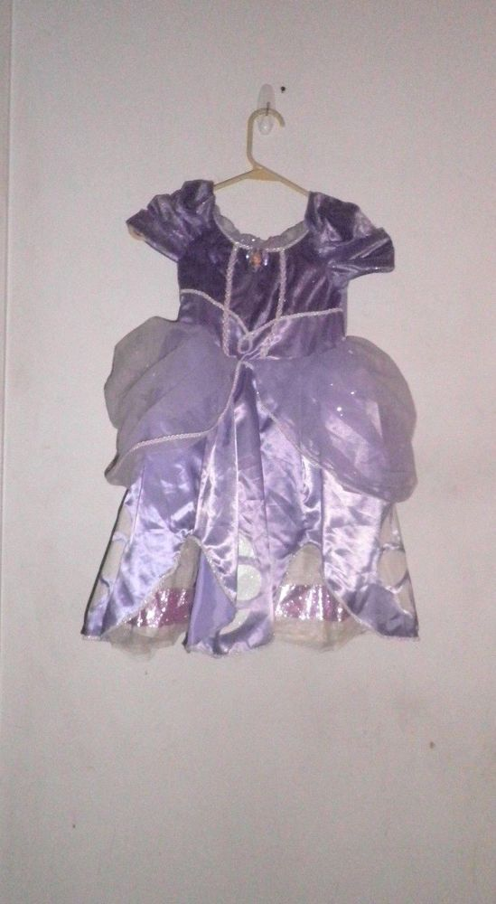 Disney Store Princess SOFIA The First Dress Gown Sophia Costume size ...