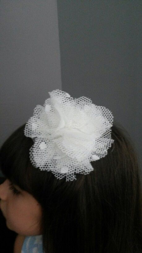 Tulle Flower ....done by me