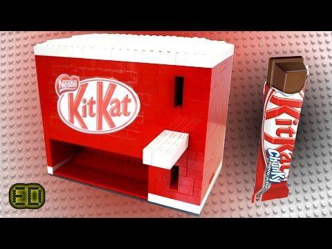 Lego KitKat Chocolate Bar Machine - YouTube