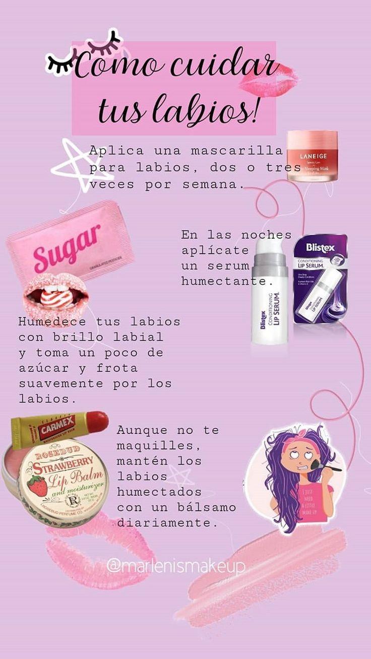 Beauty Make Up, Diy Beauty, Beauty Skin, Beauty Hacks, Sewing Barbie Clothes, Facial Tips, Vanitas, Tips Belleza, Face And Body