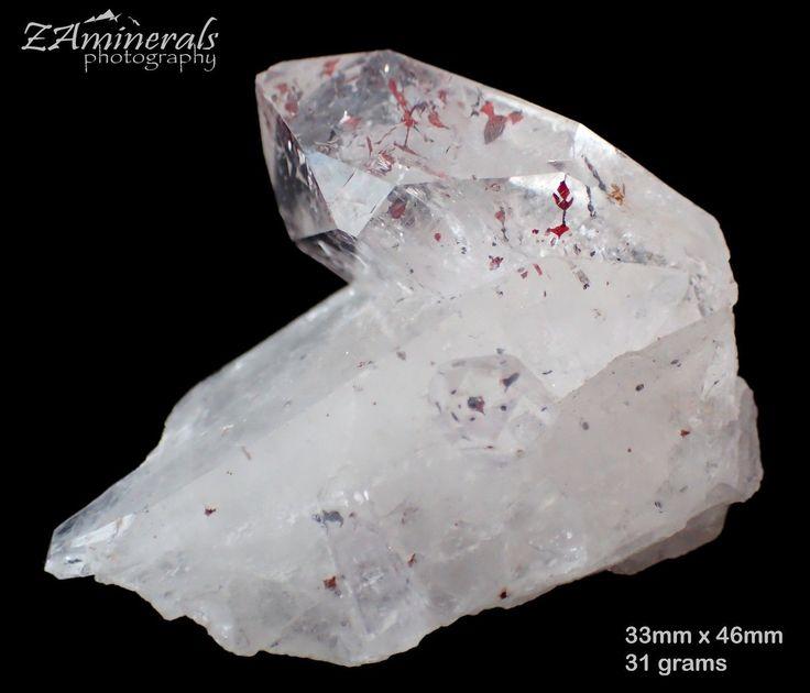 Brandberg Goboboseb Quartz Crystal Lepidocrocite RE18 | eBay