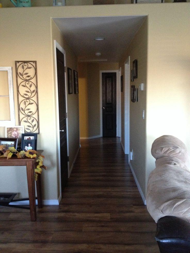 Behr Espresso Beans Interior Doors And Shaw Laminate Floors