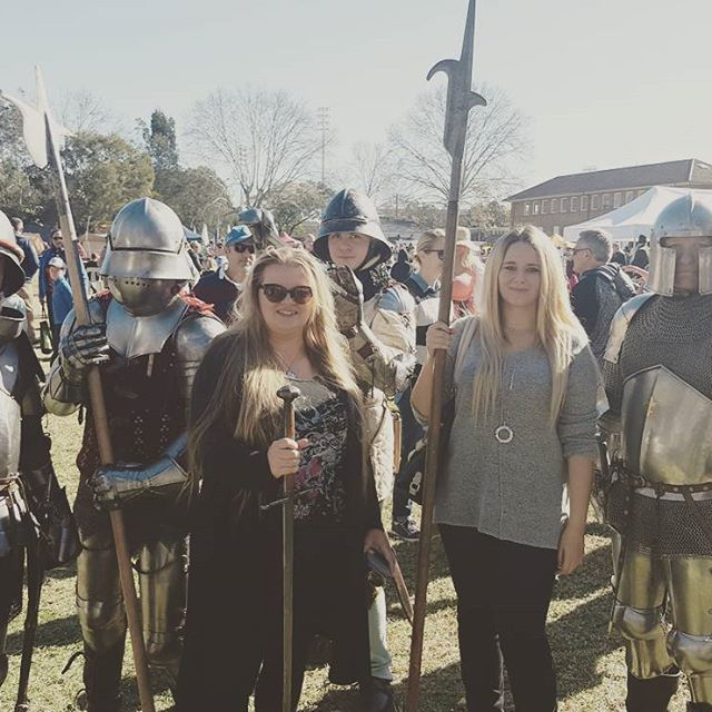 #medievalfair #medievaltimes #knights #knightinshiningarmor #backintime #fun #beforethecalm #withmum #geek #nerd
