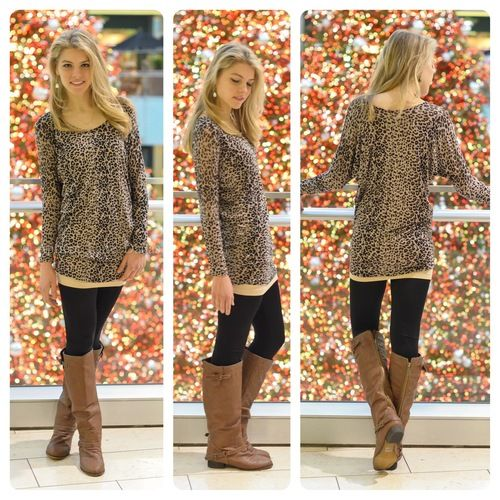 leggings and boots! perfect for any fall/winter outfit! love!