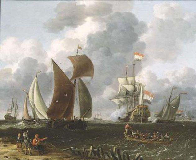 A Battle Offshore