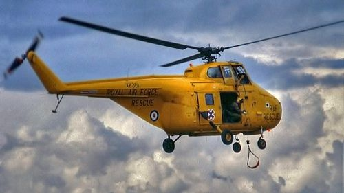 RAF 22 Squadron Whirlwind. Dad flew in both the Whirlwind and Wessex. The RAF began flying Sea Kings in the 1990s.