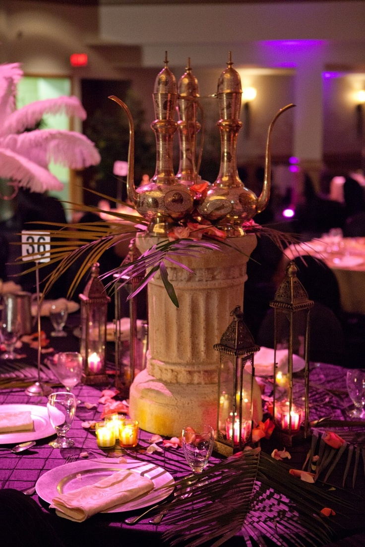 My moroccan themed wedding decor wedding love for International theme decor