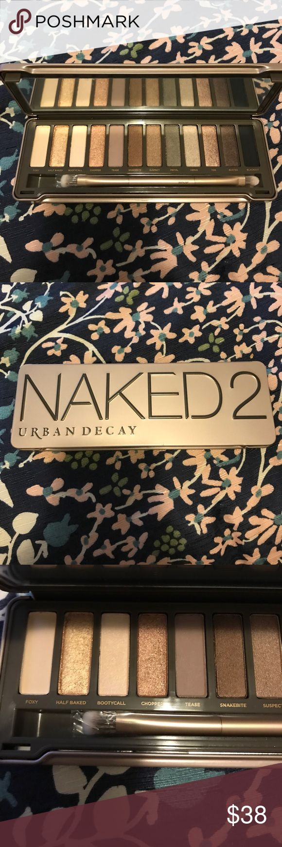 🌟brand new🌟 urban decay naked 2 palette Never used or swatched. Doesn't include box because it came in the vault gift set. 12 signature urban decay shades that differ from the original palette and Eyeshadow brush. 100% authentic. Please ask me any questions you have and I will prove authenticity. Urban Decay Makeup Eyeshadow