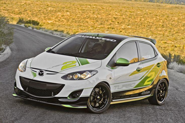 Mazda 2 race
