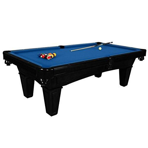 Toscana Onyx 8 Foot Slate Pool Table with Blue Felt by Harvil. Price Includes On-Site Delivery, Professional Installation and Accessories