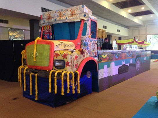 truck bar at my punjabi wedding. why not?
