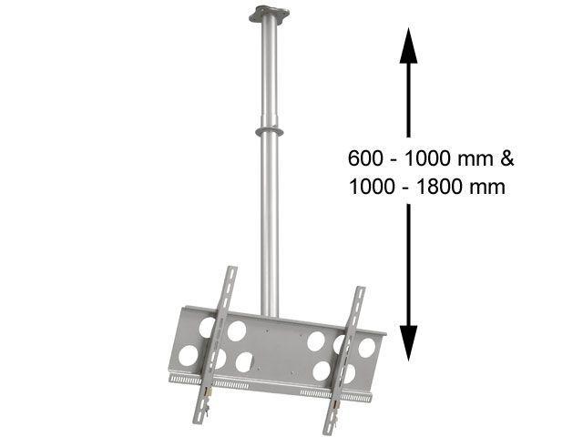 Maße Teleskop TV-Deckenhalterung PLD