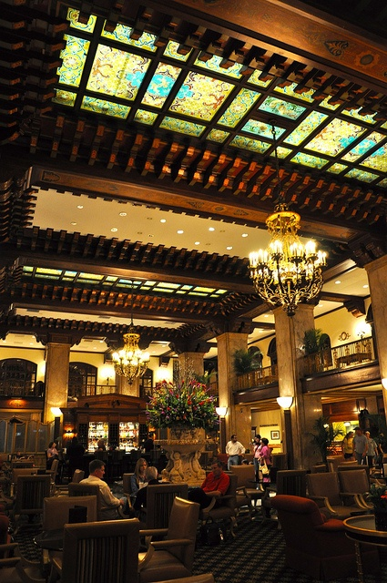Peabody Hotel Lobby, Memphis. Everyone Should Experience Cocktails Here.