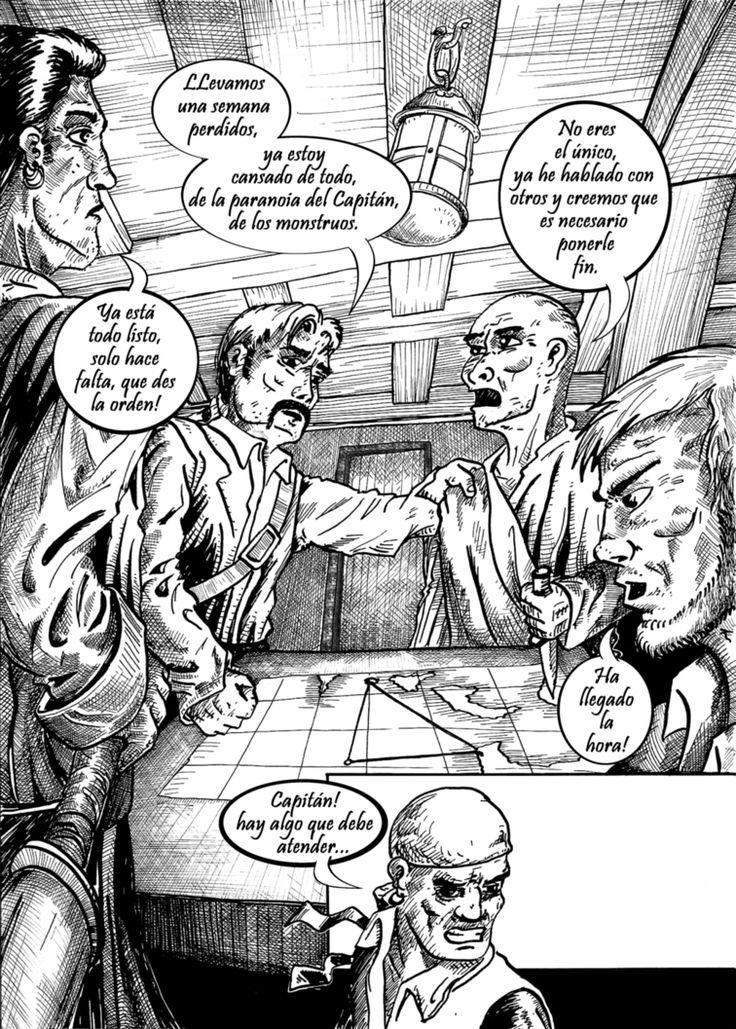 Dertod-Historieta-Monstruos  Piratas-03-03 by dertodzod.deviantart.com on @DeviantArt