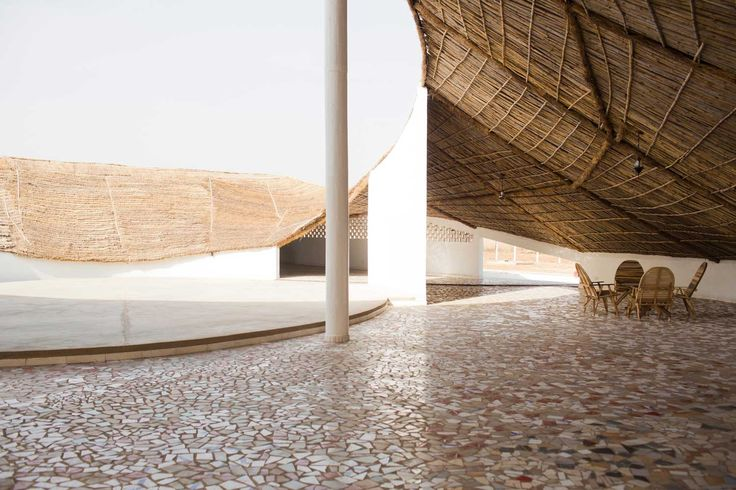 THREAD: Artists Residency in Senegal by Toshiko Mori | http://www.yellowtrace.com.au/artists-residency-senegal-toshiko-mori-architects/