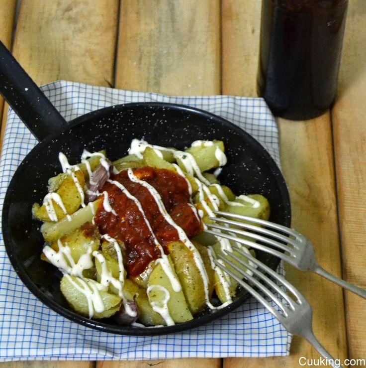 Patatas bravas con ajo y pimentón | Cuuking! Recetas de cocina