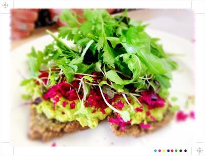 Toast: Auckland Eats: Little Bird Organics Unbakery & Ortolana